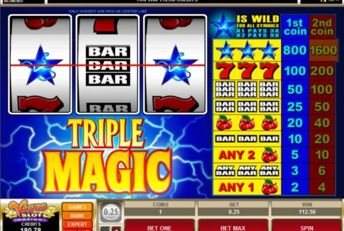 triple magic slot android