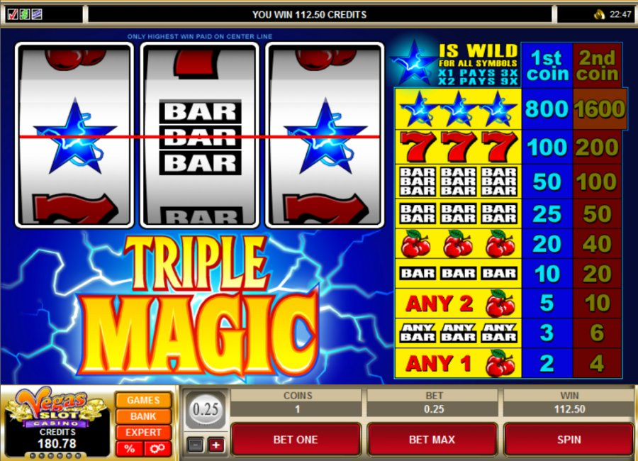 Review The Triple Magic Slots With No Download