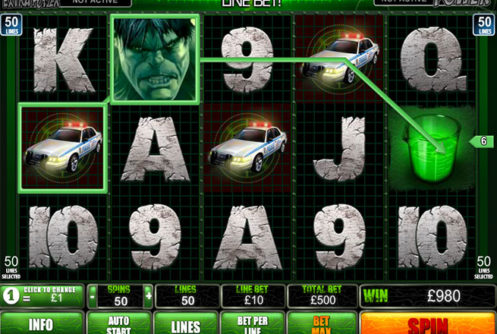 hulk android slot