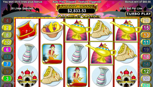 Aladdins Wishes Mobile Slot