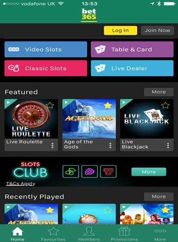 new bet365 android app