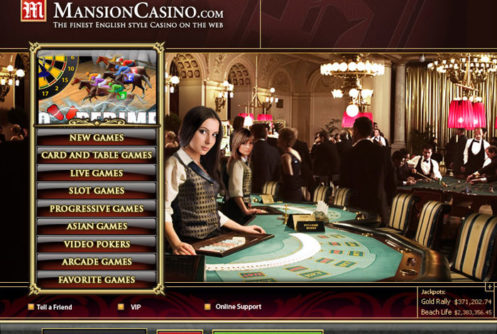mansion online casino  android