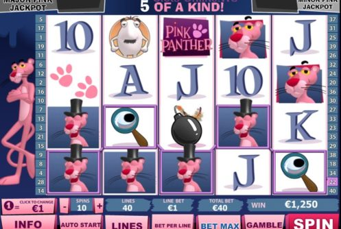 Pink Panther Slot Android